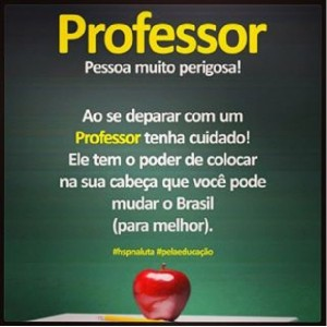 PROFESSORES x PM